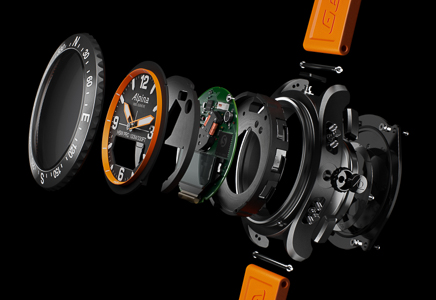 94 Alpina V.COM ALPINA 2018 Alpina AlpinerX Exploded Watch View